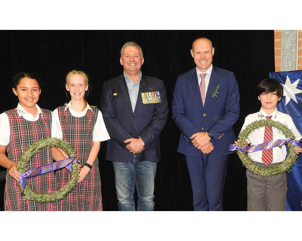 ANZAC Day commemoration assembly
