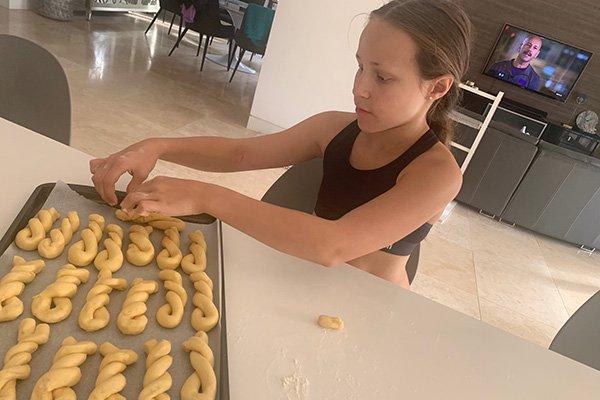 Baking for Greek Easter