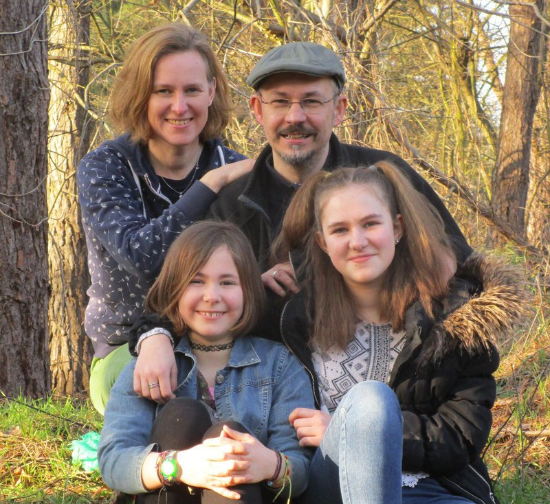 Janna, Katja, Miriam & Alexandar  who are seeking a family exchange from Berlin