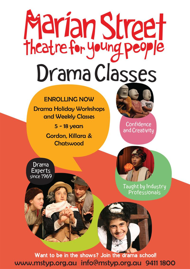 Marain Street Theatre runs holiday workshops