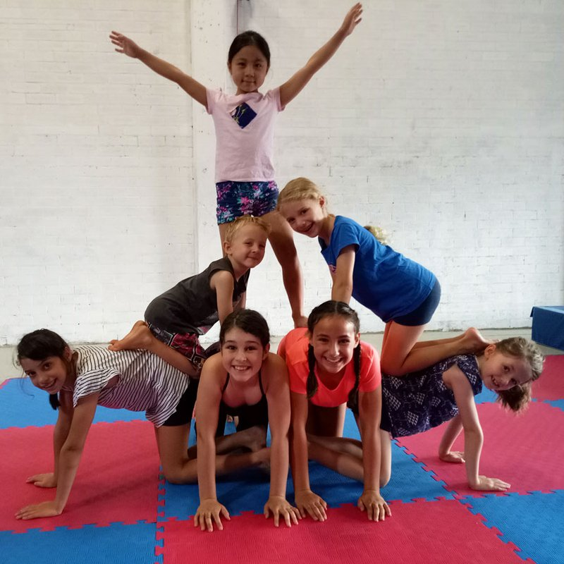 Circus Akimbo runs a 3-day vacation circus camp