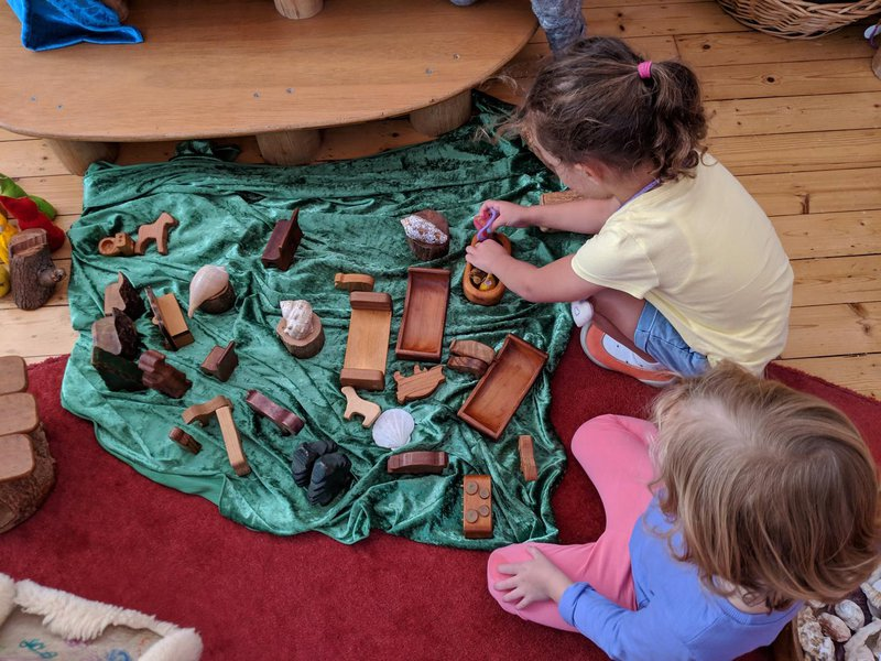 ...and lovely open-ended creative play.