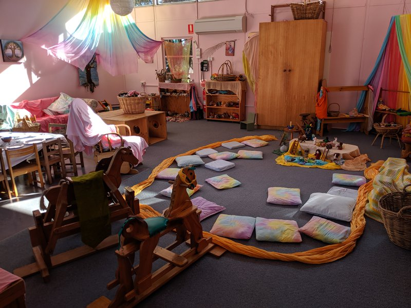 Creating space for children and parents to explore at playgroup