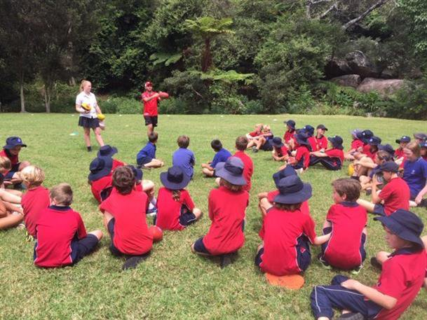 AFL lunchtime clinic