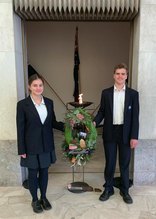 Glenaeon at the RSL ANZAC Commemoration Service 2019