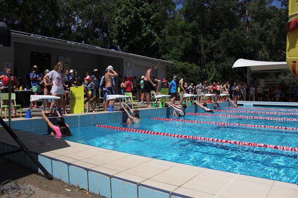 Combined swimming carnival