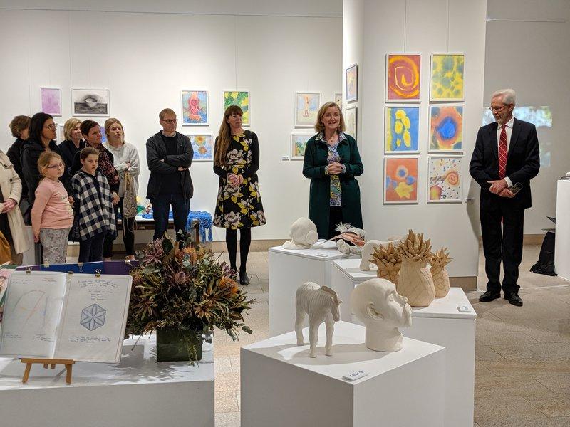 Glenaeon Student Art Show Opening