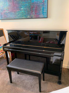Kohler & Campbell KC145D Upright Piano for Sale