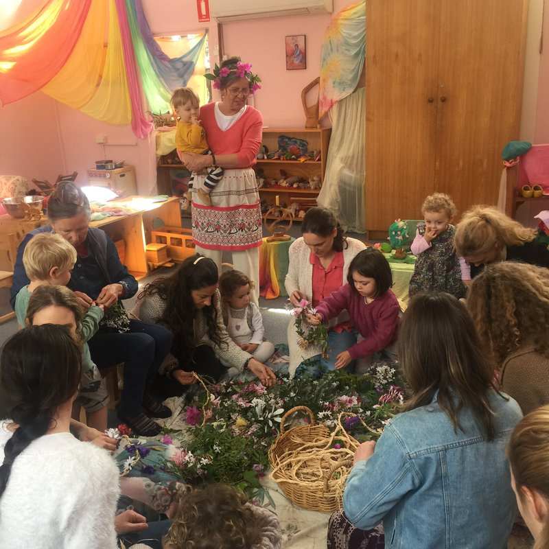 Spring Festival with Ebba Bodame's playgroup