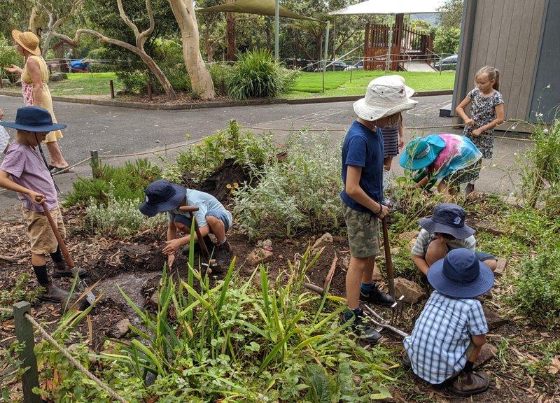 Class 2 Transforms the Garden