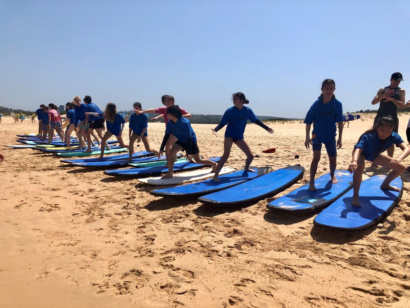 Surf's up for Year 10
