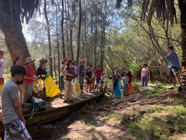 Big Bali Clean Up at Scotts Creek