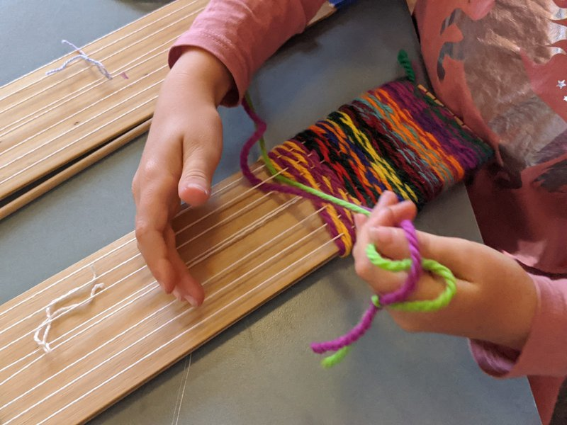 Term 2 Handwork projects underway