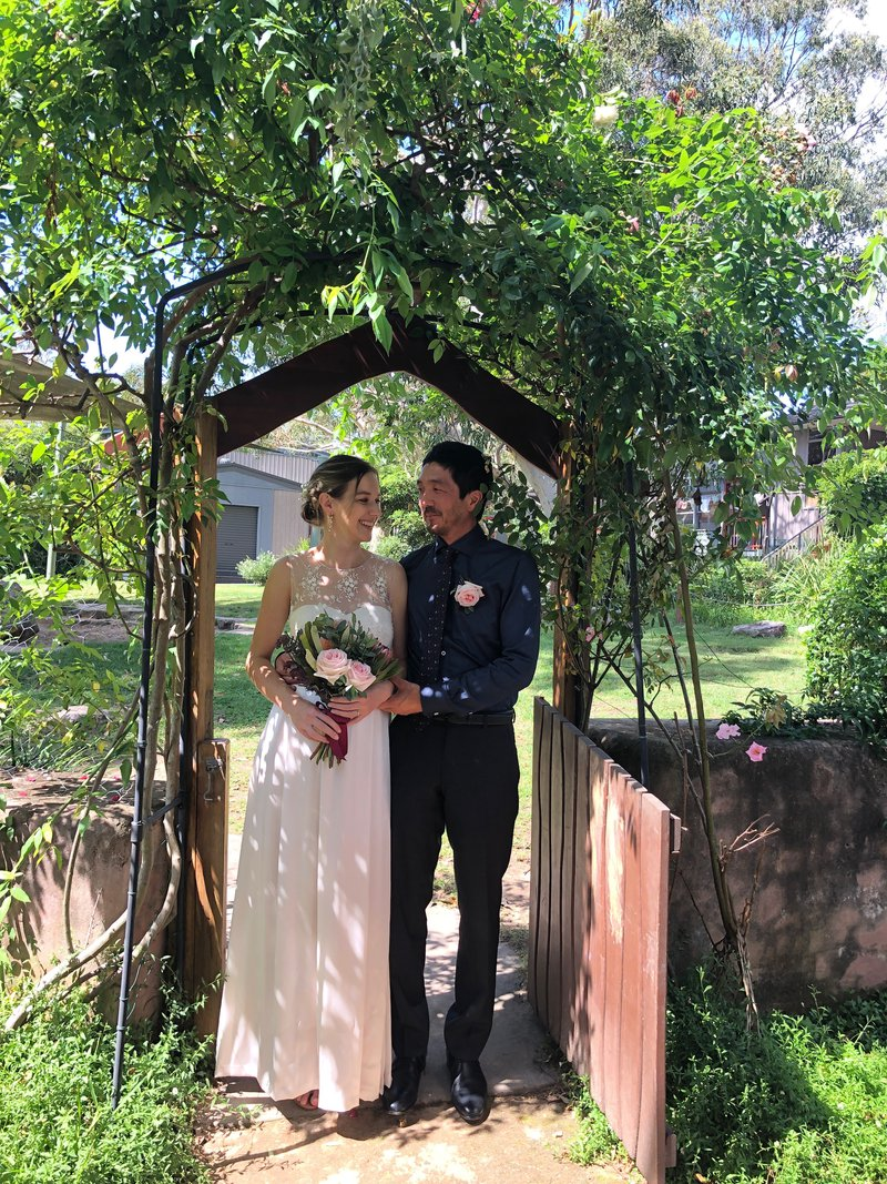 GlenXers tie the knot