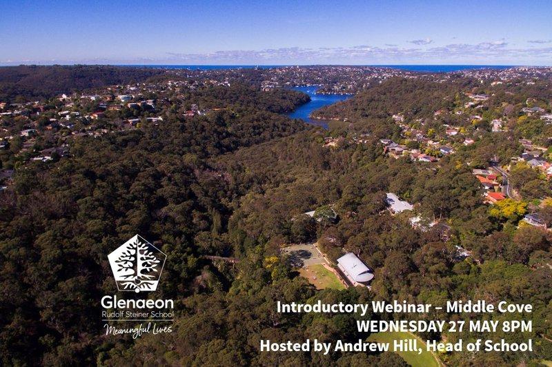 K-2 Glenaeon Introductory Webinar Wednesday 3 June 8pm