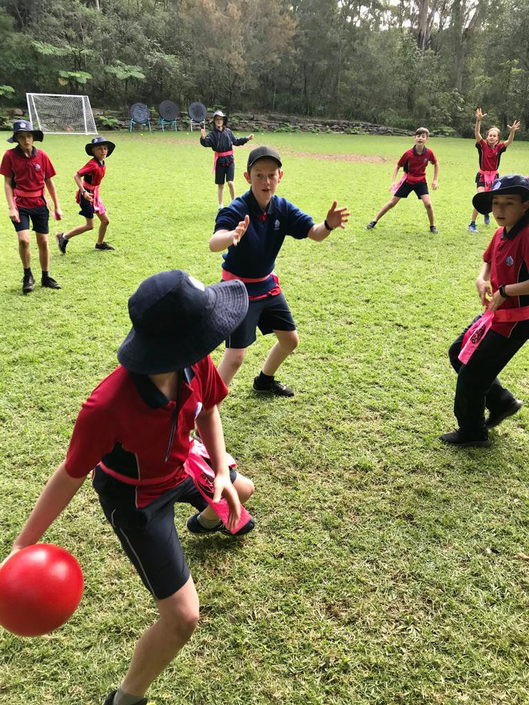 Indigenous Games with Class 6 during National Reconciliation Week