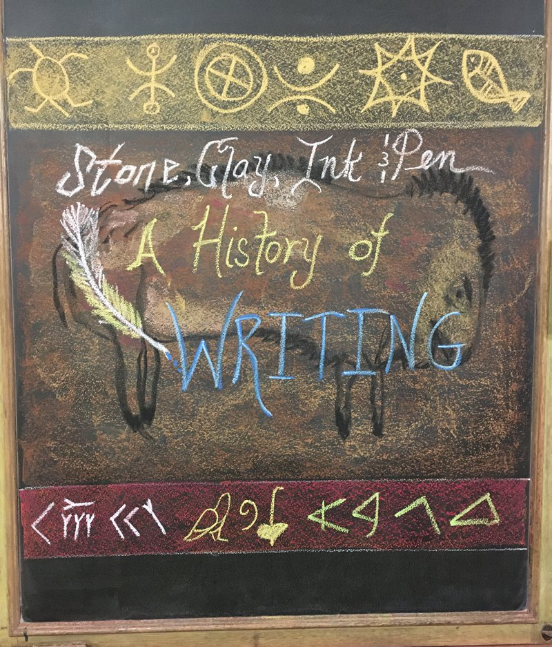 Class 4 explores the history of writing