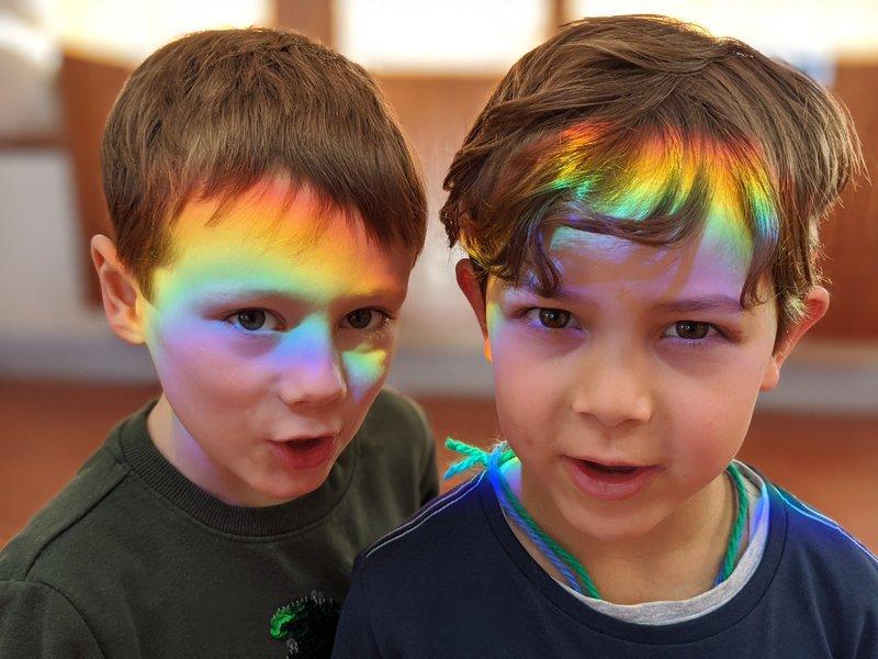 Rainbow Magic in Reception