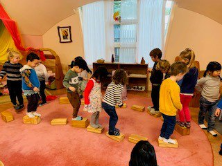 Our Preschoolers thrive with Creative Play