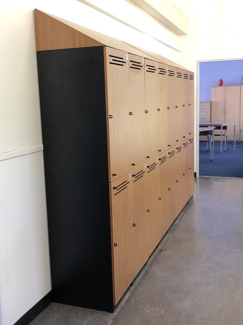 Year 8 and 12 locker upgrade