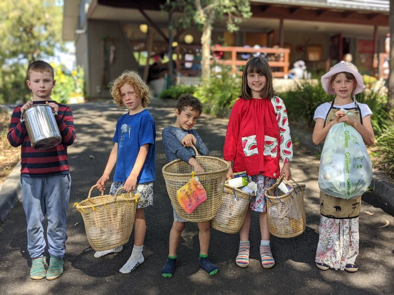Proud recyclers at Castlecrag ahead of National Recycling Week