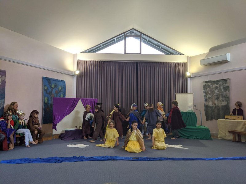 Class 2 play - the King of Ireland's Son