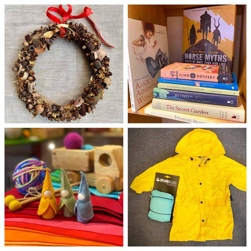 Grassroots Eco Store is open every day with lots of gift ideas in store