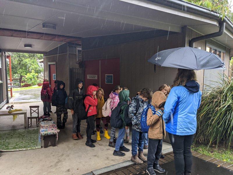 Class 2 visits big campus ahead of Class 3, 2021
