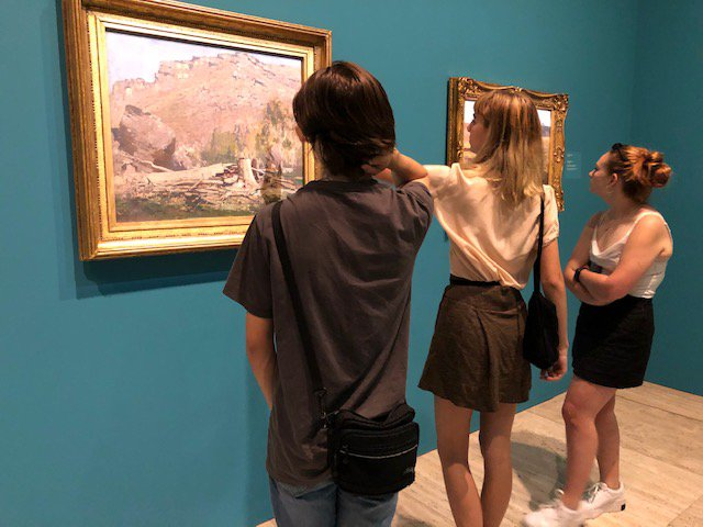 Incoming Year 12s visit AGNSW