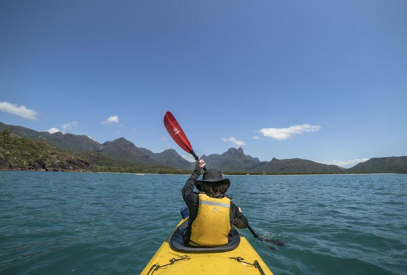 Join us for Sea Kayaking @ Hinchinbrook Island
