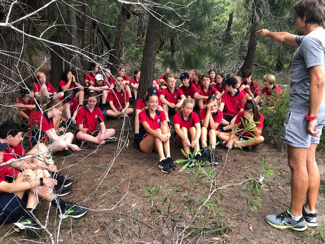 Year 9's The Cove, builds character