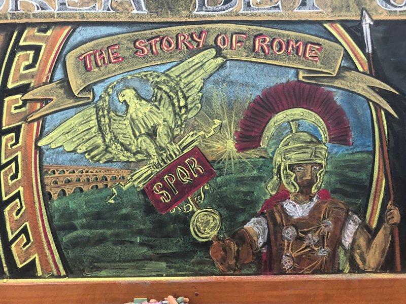Class 6 Main Lesson ROME
