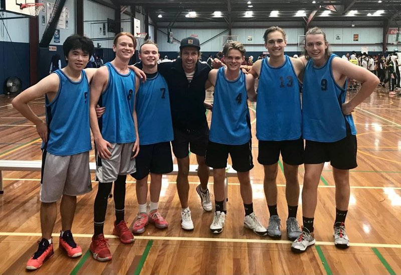 Farewell The Chill Team with Basketball in Bankstown