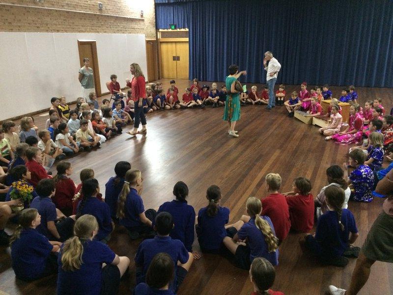 A big warm welcome to big school Class 3!