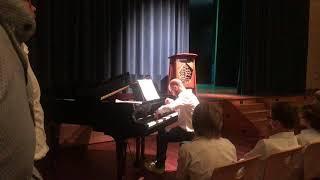 Stuart Wright's Mozart recital