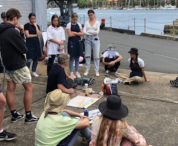 Year 11's Cockatoo Island Visual Art Excursion
