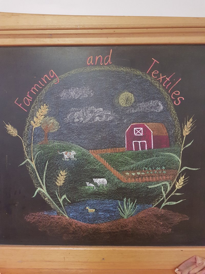 Class 3 explores Farming and Textiles