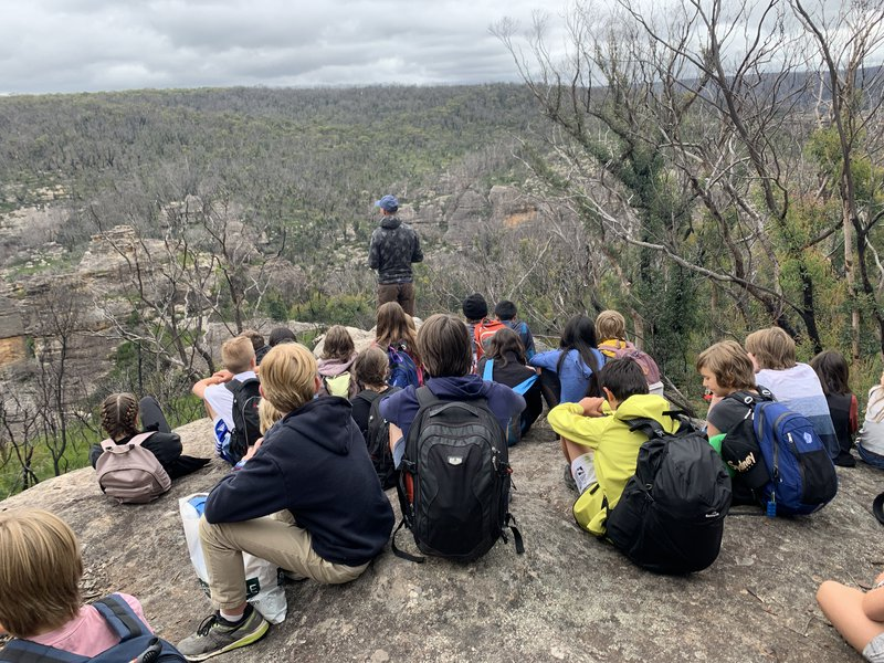 Year 7 discovers Newnes Plateau