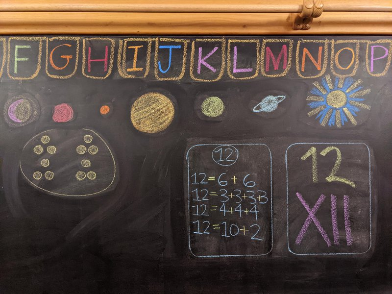 Class 1 explore numbers to 12