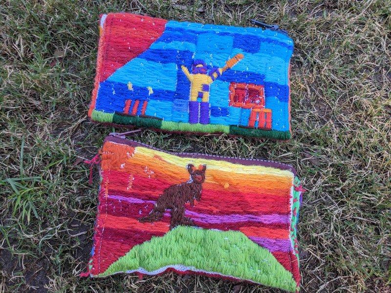 Class 2 long stitch pencil cases