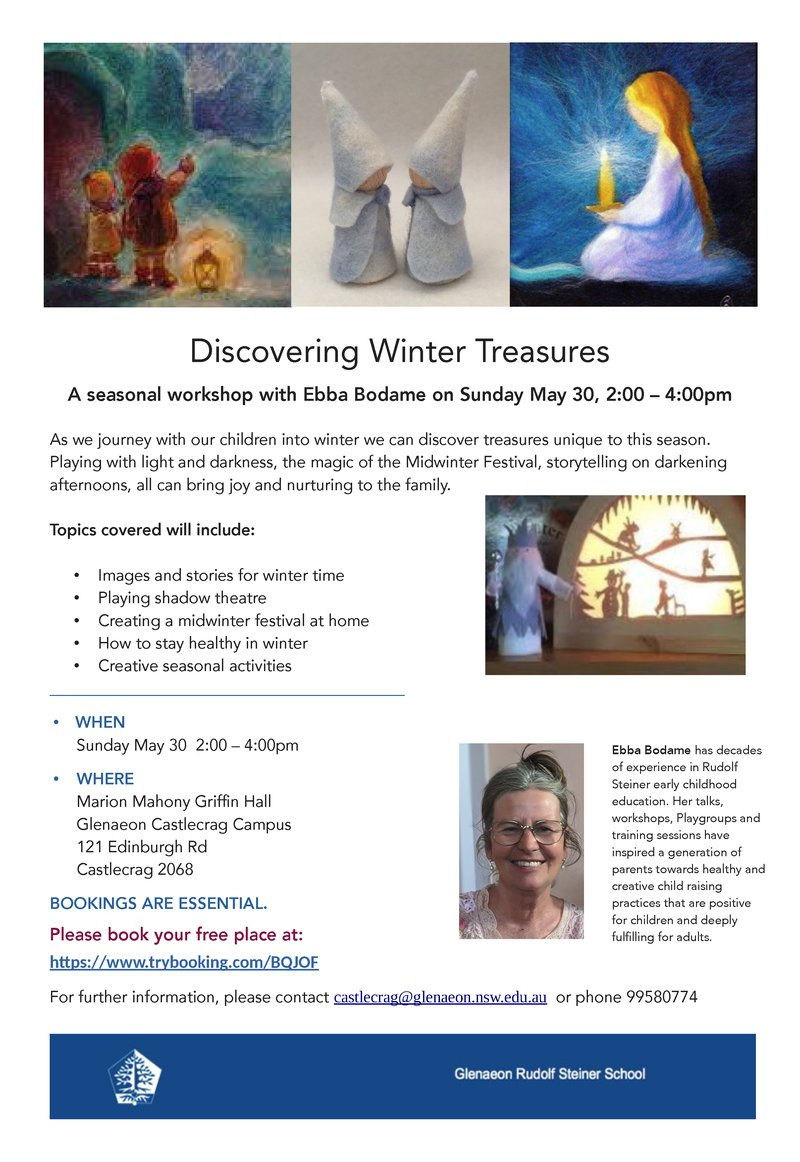 SUN 30 MAY: Discovering Winter Treasures with Ebba Bodame
