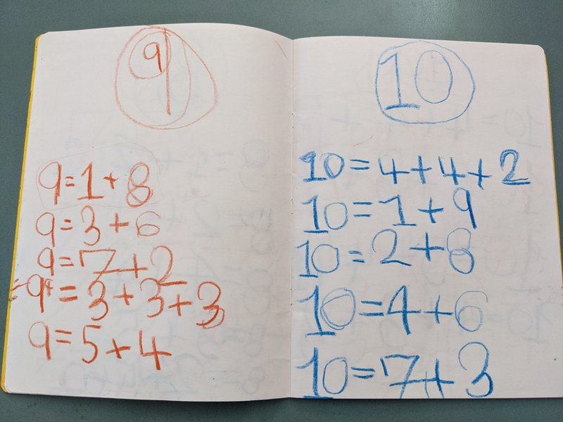 Class 1  learning mathematical processing