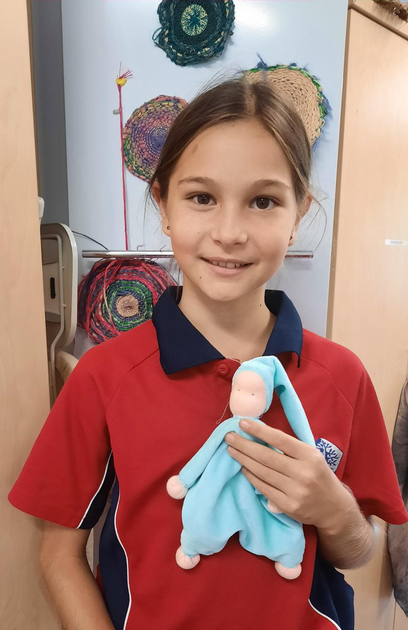 Socks, dolls and clothing: Handwork makes it all!