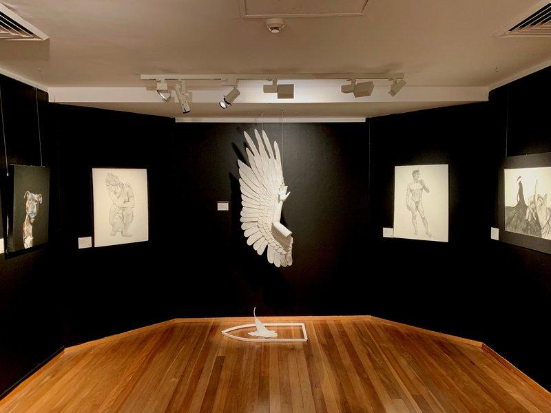 Year 12's Kauri Palmer awarded Art Prize