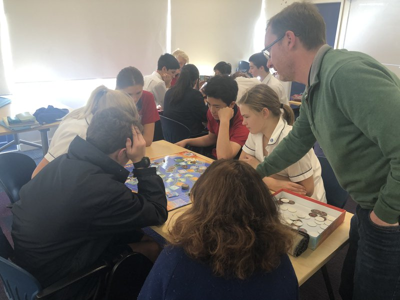 Year 10s play games to save life on Planet Earth