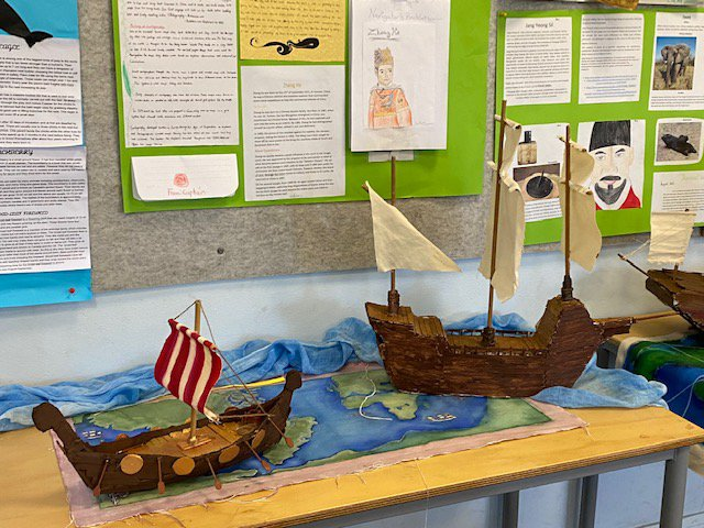 Year 7 discovers the age of exploration and discovery
