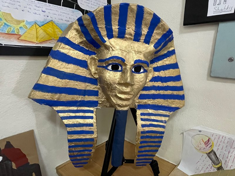 The Main Lesson Project - Class 5 explores Egypt