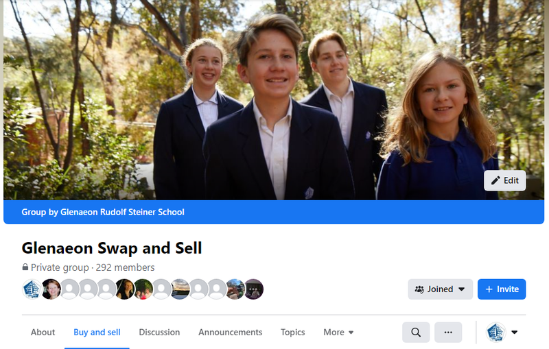 Spring Clean with Glenaeon Swap and Sell Facebook Group