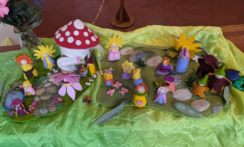 Spring Nature Tables at school and home