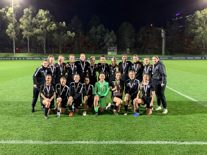 MAS CIS Girls Football Champions